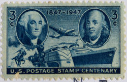 3-cent stamp from 1947.