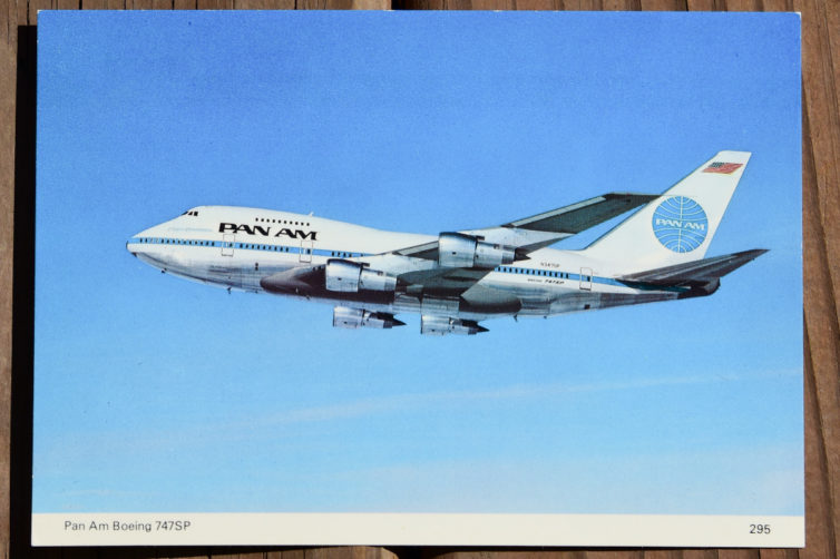 Pan-Am 747 SP